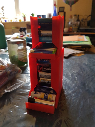 Battery Dispenser for AA and AAA -- http://www.thingiverse.com/thing:605854